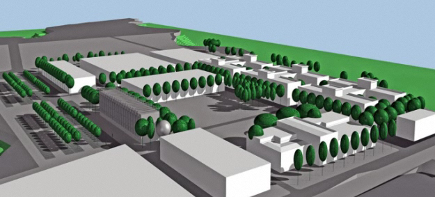 3D image of the park